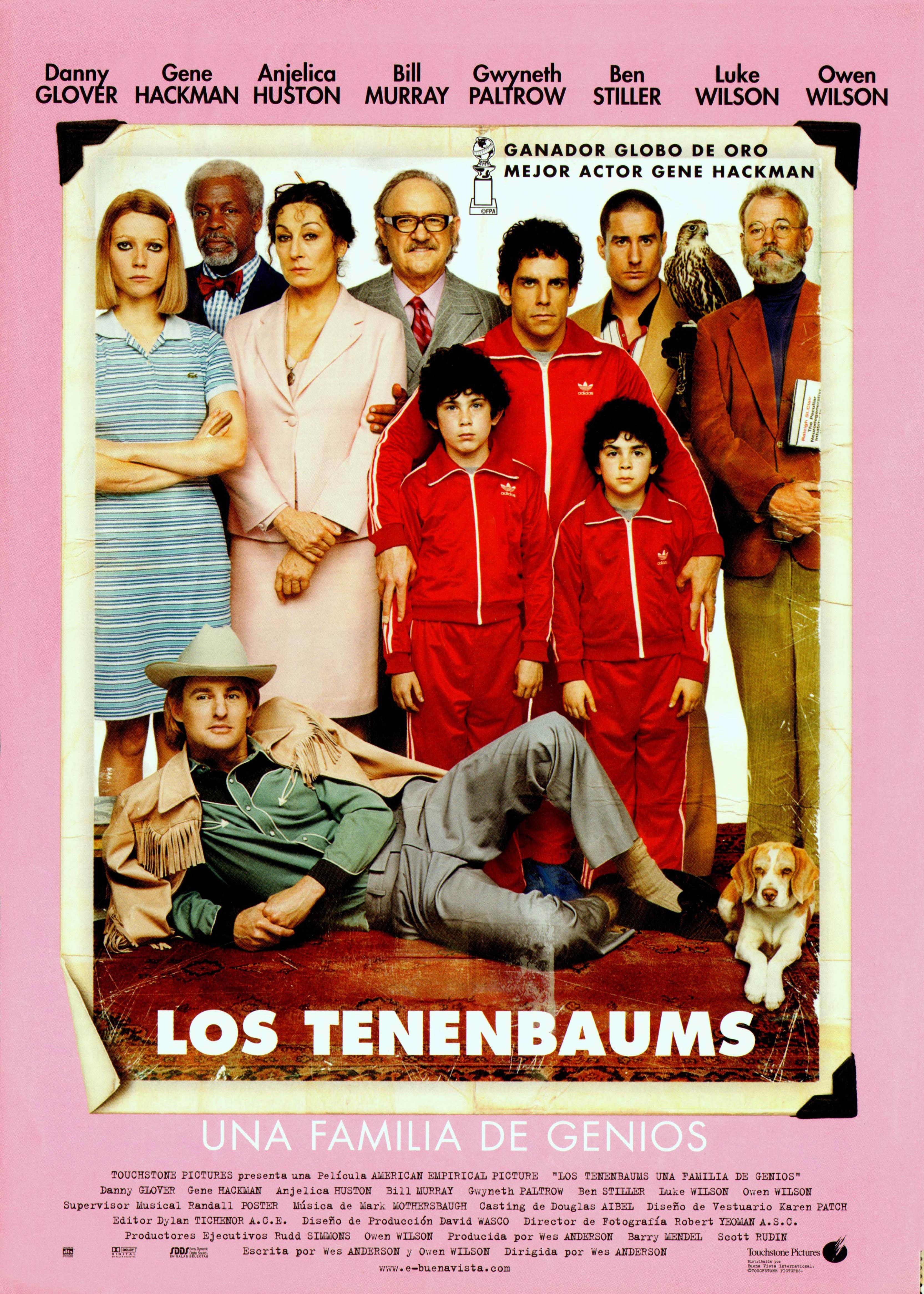 Los Tenenbaums. Una familia de genios  ( The Royal Tenenbaums )