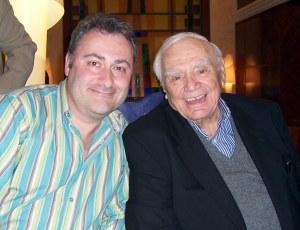 Duelo de titanes: Javier G. Romero, bien acompañado por un coloso, Ernest Borgnine